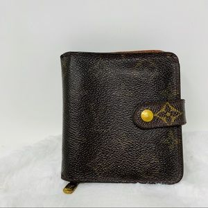 Authentic Louis Vuitton Compact Zippy Wallet
